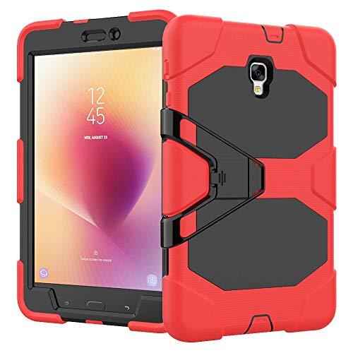 RZL Pad y Tab Fundas para Samsung Galaxy Tab A 8.0, Funda Protectora a Prueba de Golpes a Prueba de choques Tableta de Silicona Resistente para Samsung Galaxy Tab A 8.0 SM-T380 T385 2017