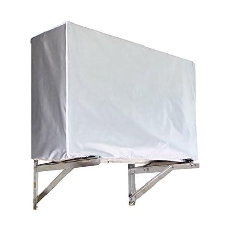 94 * 40 * 73 cm Liyeehao Cubierta de Aire Acondicionado All Season Universal AC Cover Dise/ño Impermeable Antipolvo y antinieve para el hogar Exterior Anticorrosi/ón y desodorizaci/ón