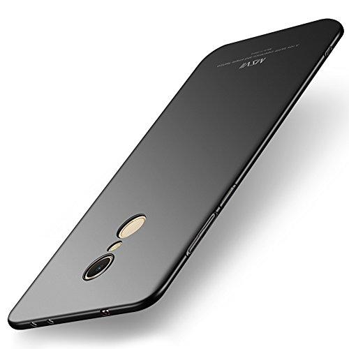 Msvii Cover Xiaomi Redmi 5 (5.7'), Ultra Sottile Custodia Cover Case e Pellicola Protettiva per Xiaomi Redmi 5 (5.7') - Nero JY00427
