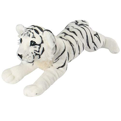 N / A Nueva simulación Tigre león Leopardo Peluches y Animales de Peluche muñeca Linda Regalo de cumpleaños para niños Juguetes Almohada Suave Navidad 40cm
