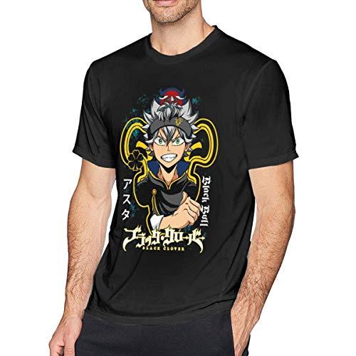 Camisetas Black Clover Asta & Nero Camiseta Deportiva de Manga Corta Unisex