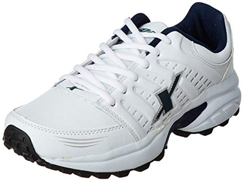 Sparx Men's SX0241G White and Navy Blue Running Shoes - 7 UK (SM-241)