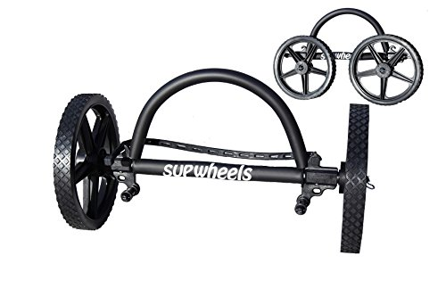 SUP Wheels Deluxe Model [Black W/Sup Strap Handle]