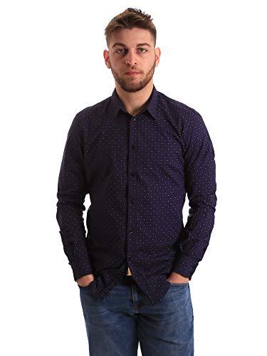 Gaudi jeans 821BU45012 Hemd Man Blau XXL