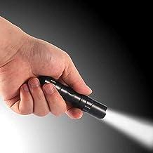 LED Flashlights Portable Waterproof Super Mini Flashlight Aluminium Alloy Super Bright Torch for Camping Hiking (Body Colo...