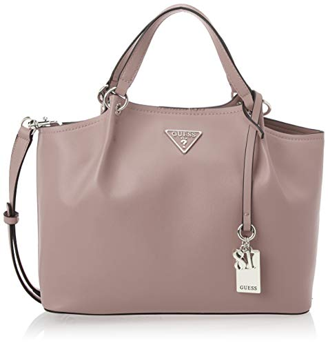 GUESS Satchel, Top Handle, Crossbody, Rosewood
