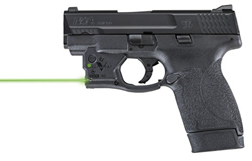 VIRIDIAN WEAPON TECHNOLOGIES Reactor 5 Gen II Green Laser Smith amp Wesson MampP Shield 45 with ECR Instant On IWB Holster Black