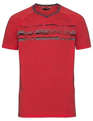 VAUDE Skomer T-Shirt, Homme, Energetic Rouge, XL