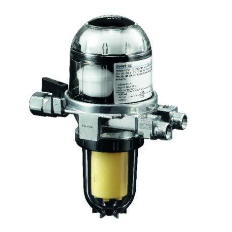 Oventrop Ölfilter/Entlüfter Toc-Duo-3 SIKU 25-40my mit integrierter Absperrung 2142732