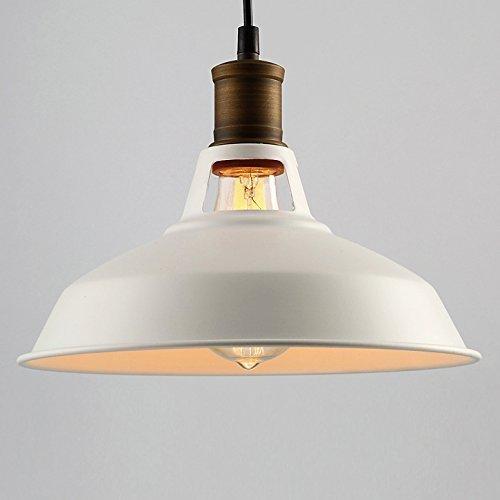 Creatieve retro-club, ijzer, enkele kop, holle pan, plafondlampen, hanglamp, industriële stijl, kopertinten, Yurta-metalen lichaam