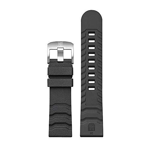 Luminox 3740 Bear Grylls Master Series Uhrenarmband, Gummi, Dunkelgrau