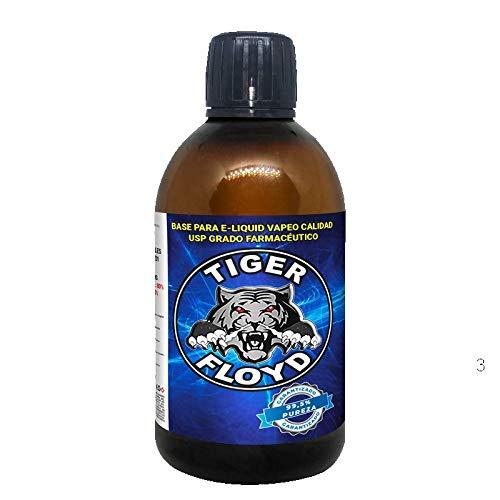 Base Vapeo - 100% GLICERINA VEGETAL (VG) | 500 ML | Marca: Tiger Floyd | Sin Nicotina: 0MG | Calidad USP - Grado Farmacéutico - alquimia Pureza Certificada | Puzera 99%