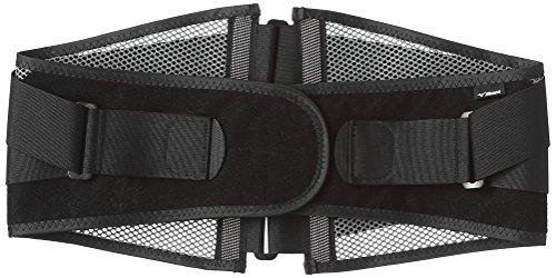 [ミズノ] 腰部骨盤ベルト 各種サイズあり ノーマルタイプ スリムタイプ メッシュタイプ ワイドタイプ ブレスサーモタイプ 固定力 介護 運転 男女兼用 ブラック XL