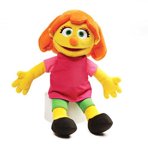"GUND 4060449 Sesame Street Julia Stuffed Plush, 14"""
