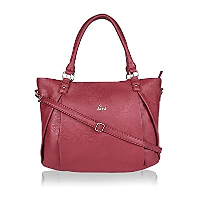 Lavie Aalto Large Horizontal Women's Tote Bag (Dark Red)