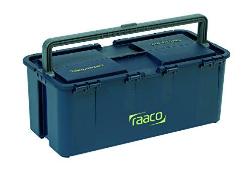 raaco 138468 Werkzeugk Werkzeugkoffer Compact 20, dunkelblau
