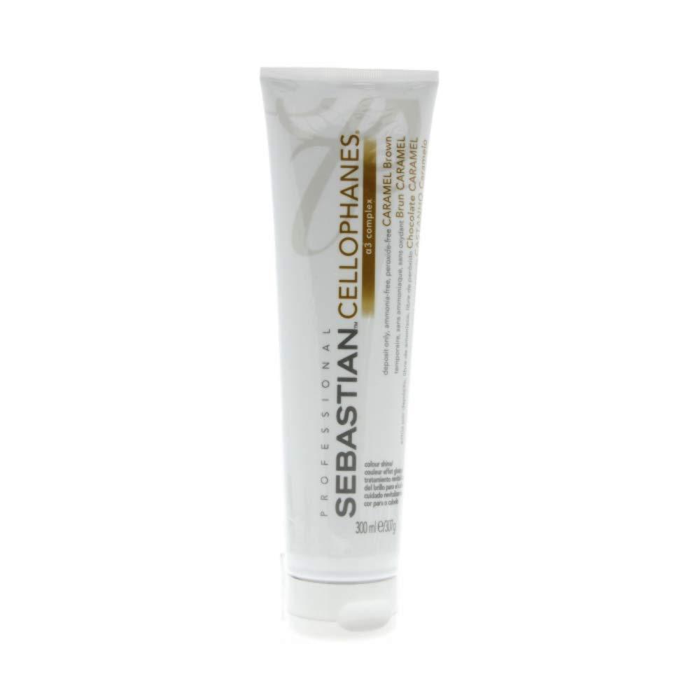 Sebastian Professional Cellophanes Ammonia Free Semi-Permanent Colour, Caramel Brown, 300 g