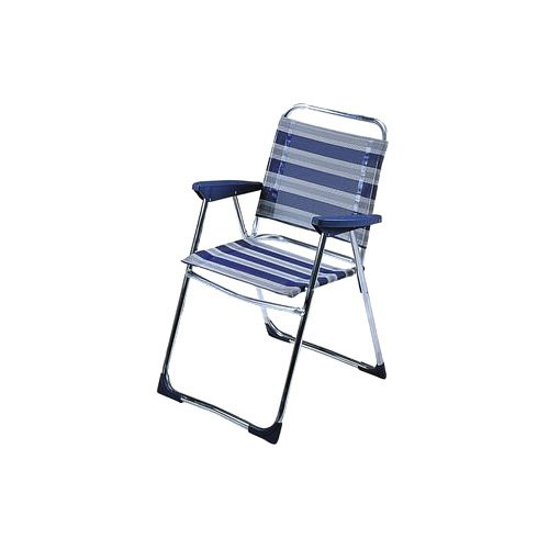 Crespo Campingstuhl AL/219 blau-grau