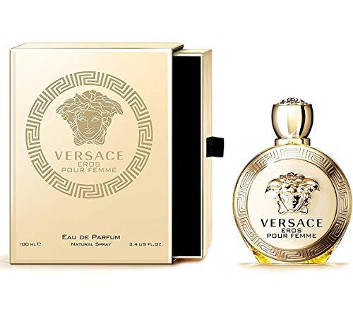 Versace Eros pour Femme, Eau de Parfum, Vaporisateur / Spray 100 ml, 1er Pack (1 x 0.318 kg)