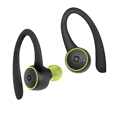 SBS Bluetooth Kopfhörer kabellos in Ear - Wireless Kopfhörer 2h Laufzeit, Mikrofon, Bügel & Ladebox - Funkkopfhörer in schwarz für Apple iPhone Handy PC - Drahtlose Kopfhörer