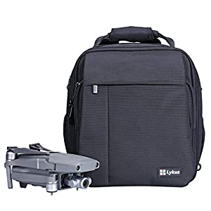 Lykus M1 Water Resistant Travel Backpack for DJI Mavic 2 Pro/Zoom, Mavic Pro, Mavic Mini, 4-in-1 Backpack/Case/Shoulder Bag/Cross Body Bag