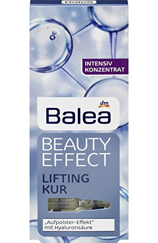 Balea Beauty Effect Lifting Treatment Ampoules With Hyaluronic Acid 7 x 1 ml MADE IN GERMANY