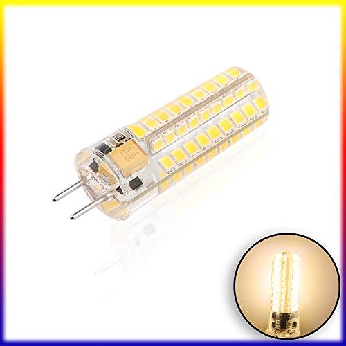 PopHMN SMD2835 72-LED Glühlampe 7W 12V GY6.35 Silizium Entspricht 60W Halogenlampe Für Den Home Shop, Bürobeleuchtung, Warmweiß
