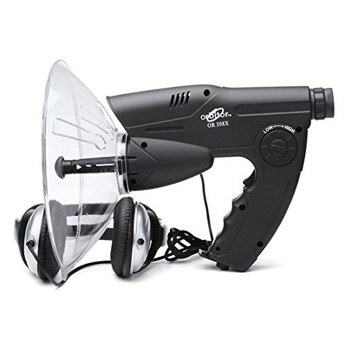 Tutoy Popular Amplificador De Sonido 8X Zoom Naturaleza Observación Dispositivo con Función De Grabación Y Reproducción
