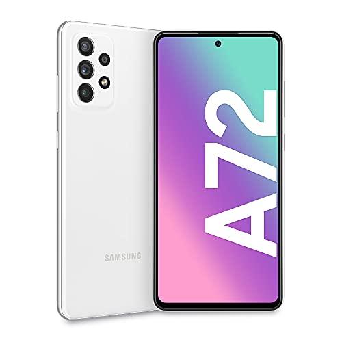 Samsung Galaxy A72 Smartphone, Display Infinity-O FHD+ da 6,7 pollici, 6 GB RAM e 128 GB di memoria...