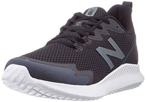 New Balance Ryval Run, Zapatillas para Correr de Carretera para Hombre, Black, 40.5 EU X Wide