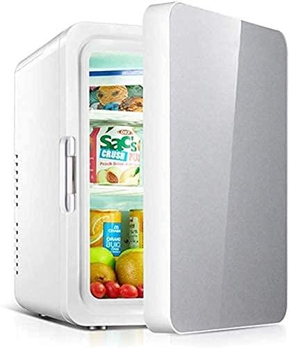 JLKDF Mini refrigerador 22L Refrigerador de Coche de Gran Capacidad Refrigerador y Calentador Personal portátil para Dormitorio, automóvil, Oficina, refrigerador para Productos para el c