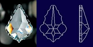 76mm French Cut Crystal Prisms #911