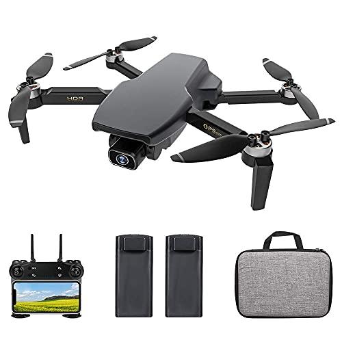 Drone con Fotocamera, Sg108 RC Drone con Fotocamera Fotocamera 4K Drone Senza spazzole Doppia Fotocamera 5G WiFi FPV GPS Flusso Ottico Posizionamento Gesto Foto Video Punto Interesse Volo Follow Me