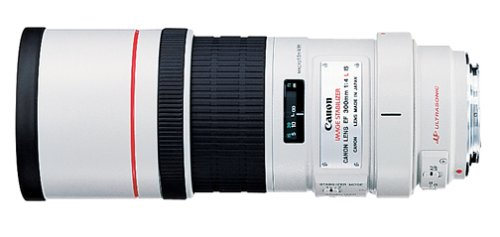 Canon EF 300mm f/4L IS USM Telephoto Fixed Lens...