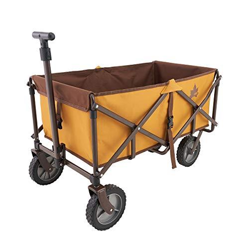 ロゴス(LOGOS) 丸洗いパンプキンカート(2020 LIMITED) 73188018 オレンジ (約)幅84×奥行53×高さ55cm