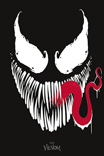 Póster Marvel Comics - Venom's Face (61cm x 91,5cm)