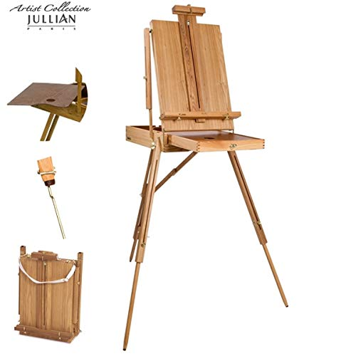 Jullian Paris Escort Half Box French Style Professional Artist Wooden Easel