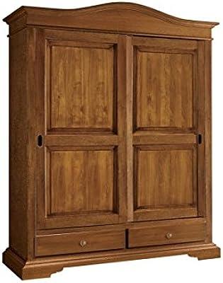 Estea Mobili - Bonito armario de 2 puertas correderas de madera ...