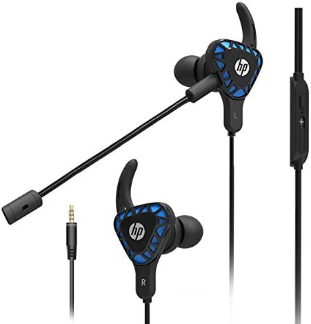 HP Gaming Earbuds with mic Deep Bass Earphones in Ear Headset Stereo Headphone with Detachable product image