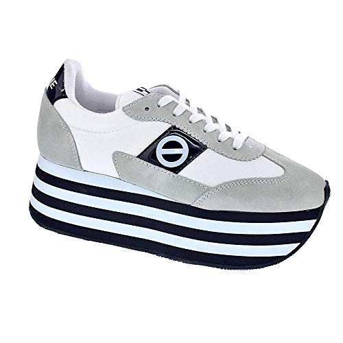 No Name Flex L Jogger - Zapatillas Bajas Mujer Blanco Talla 37