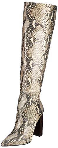 Buffalo Ferna, Bottes Hautes Femme, Multicolore (Snake 001), 36 EU