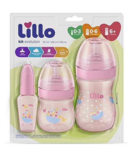 Kit Primeiros Passos - Lillo, Rosa