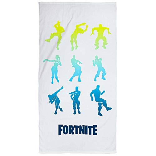 Epic Games Fortnite Emotes - Asciugamano da spiaggia in cotone per bambini