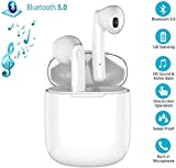 Wireless Earbuds Headphones Bluetooth 5.0 Ear buds with Mic Smart Noise Reduction