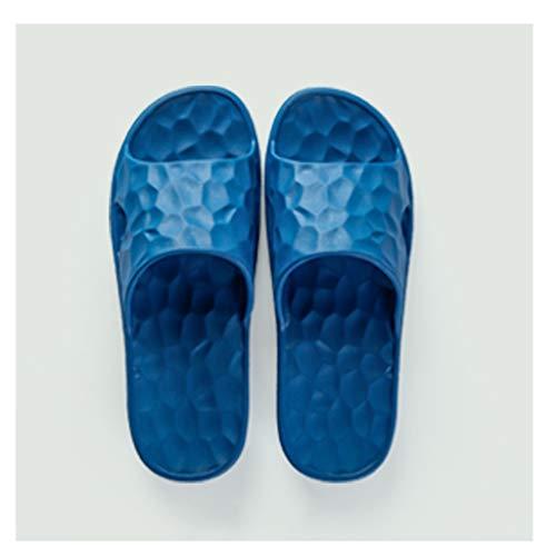 xinxinchaoshi Zapatos de Playa y Piscina Baño Deslizadores de los Pares del hogar Home Sandalias y Zapatillas Eva Suave Hombres Inferior Zapatillas de baño Sandalias de Baño (Color : D, Size : 43-44)