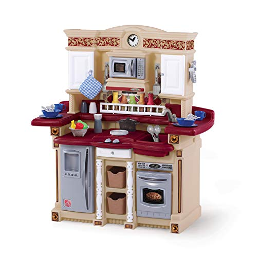 Step2 LifeStyle PartyTime Play Kitchen | Durable Kids Kitchen Playset with Play...