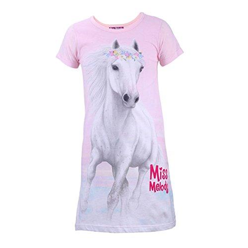 MISS MELODY Mädchen Nachthemd, rosa, Größe 104, 4 Jahre