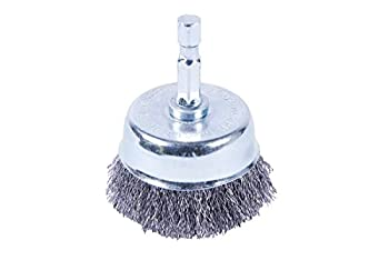 Forney 72795 Cup Brush Fine Crimped with 1/4  Shank 2