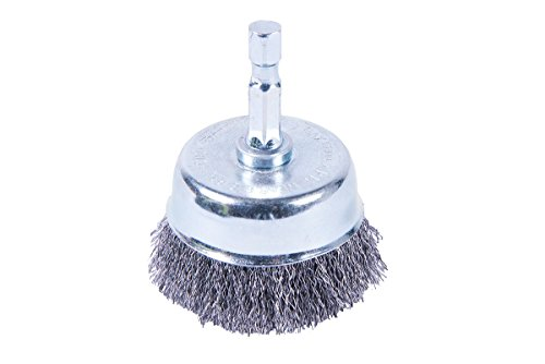 Forney 72795 Cup Brush, Fine Crimped with 1/4