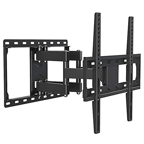 DWXN Stainless Steel TV Wall Mount Bracket for most 42-70 Inches TVs,TV Wall Holders for The Wall up to 60KG Tilting Height Adjustable, Max VESA 600x400mm